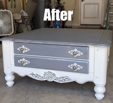 after coffee table
